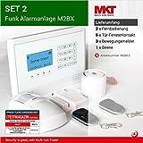 M2BX Funk Alarmanlage mit Touchpad Screen Set-2
