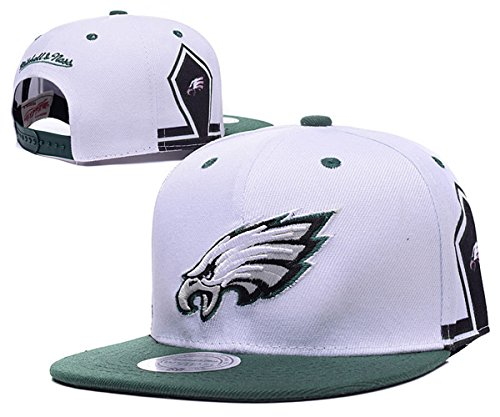 philadelphia-eagles-snapbacks-hats-adjustable-men-womens-football-caps-white-one-size