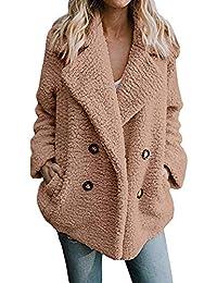 Frauen Casual Jacke Winter Warm Parka Outwear Damen Mantel Mantel Oberbekleidung Damen Strickjacke Herbst