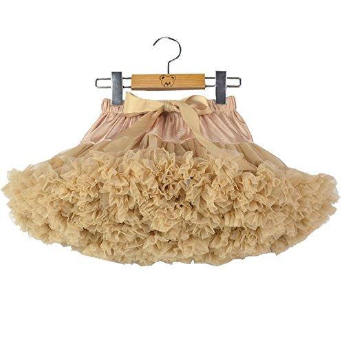 Baby Kleine Mädchen Tutu Rock Chiffon Solid Color Kurze Ballett Tanz Petticoat