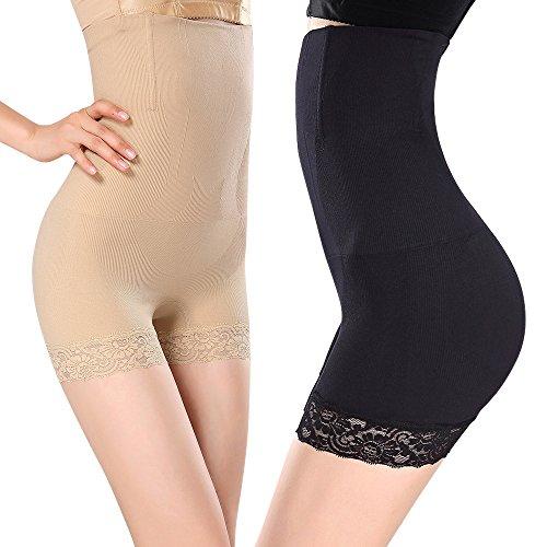 2Pcs Braga Braguita Moldeadora Adelgazante BodyBarriga Abdomen Shapewear Lenceria para Mujer (L/XXL)