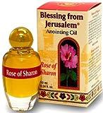 Rosa de Sharon Jerusalén unción aceite 0,34fl. oz de la tierra de la Biblia