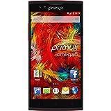 """Primux Omega 6 Smartphone MTK6582M, IPS, Double SIM Quad 8 Go Rouge 5,5"""""""
