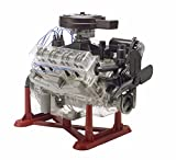Revell 18883 Visible V-8 Engine, detailgetreuer Modellbausatz, durchsichtiger Motorbausatz mit Funktion 1:4