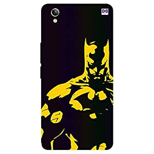 Yellow Batman - Mobile Back Case Cover For Vivo Y 51L