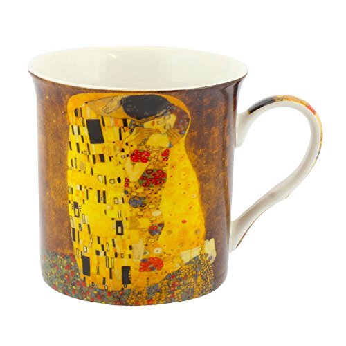 Leonardo Collection Mug de Gustav Klimt, Jaune