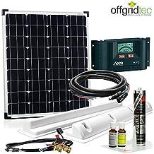 Caravan Solar Set 80Wp/12v – Wohnmobil Solaranlage - Komplett Solarset für Wohnwagen