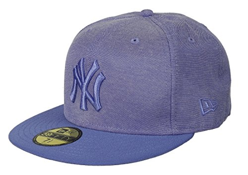 New Era Fitted Oxford Lights MLB New York Yankees Cap–, Herren, Oxford Lights Mlb Fitted New York Yankees, Blau (xbl) (Golf Yankees New York)