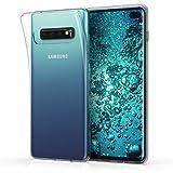 kwmobile Samsung Galaxy S10 Plus Cover - Custodia per Samsung Galaxy S10 Plus in Silicone TPU - Back Case Protezione Posteriore Trasparente