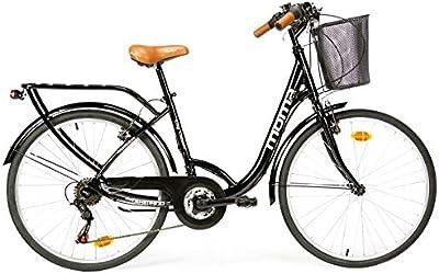 Moma Bikes Paseo Citybike Shimano. Aluminio, 18 Velocidades, Ruedas de 26