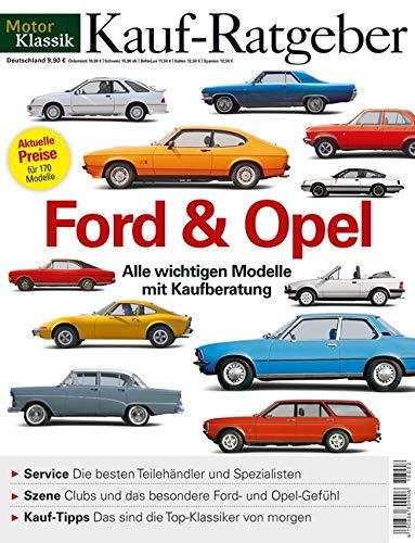 MotorKlassik Kauf-Ratgeber - Ford/Opel