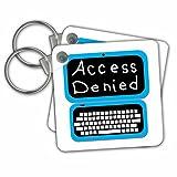 Best 3dRose Gifts Adults - 3dRose Blue Laptop Computer Technician, Access Denied Key Review