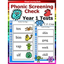 Flash Cards: Phonic Screening Check - Year 1 Tests (Phonic Ebooks: Learn To Read (Learning To Read Flash Cards For Children)) (English Edition)