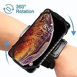 VUP Brassard 180° Rotation de Sport pour Smartphone Bracelet pour iPhone X/8/7...