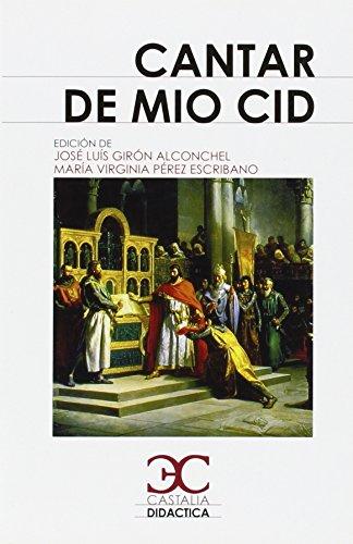 Cantar de Mio Cid par R M Pidal