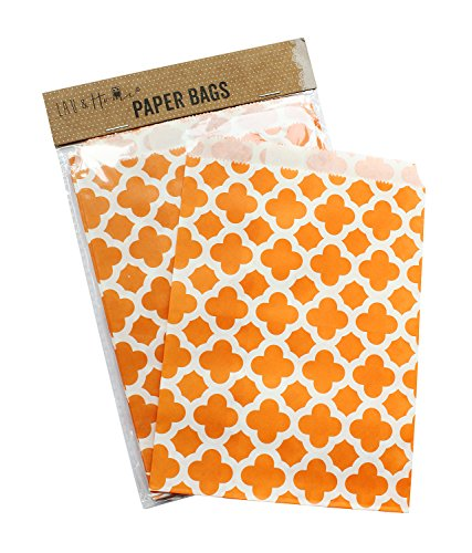 Lau and Home 100pcs Partei-Papiertüte-Bevorzugungs-süße Geschenk-Tasche scherzt süßen Füller, 5