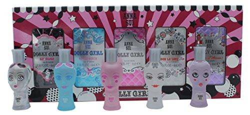 Anna Sui Dolly Girl Confezione Reaglo Miniature Coffret 5 x 4ml