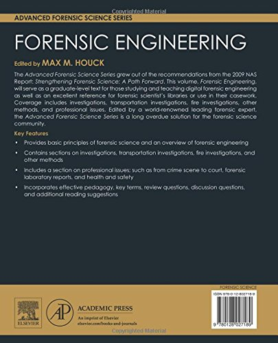 Forensic Engineering (Advanced Forensic Science)