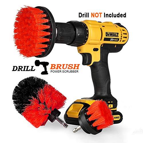 Swonuk Drill Brush, 3pcs Taladro Cepillos Accesorio 2