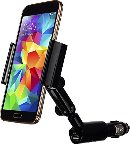 Luxa2Cigar Clip KFZ-Halterung für Smartphone schwarz