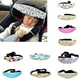 niceEshop(TM) Toddler Car Seat Head Support and Neck Relief Baby Sleep Positioner, Random Pattern