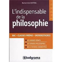 L'indispensable de philosophie