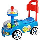 Indian 4 Wheel Funny Rider Toddler Car Rider For Kids ,Kids Riding Toys Baby Funny Rider Baby Toys Kids Cycle Toddler Rider Scooter For Kids Sold By(Indian Gift Gallery)
