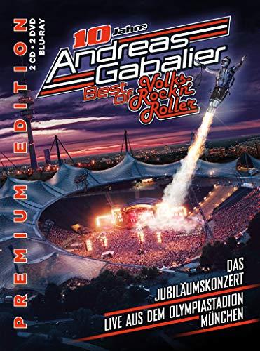 Best of Volks-Rock\'n\'Roller - Das Jubiläumskonzert live aus dem Olympiastadion in München (Premium Edition inkl. 2CD, 2DVD, Blu-Ray)