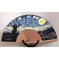 Abanico Noche estrellada Van Gogh