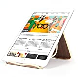 KOWAY@ naturel bois bambou & Creative Stand titulaire exclusif pour Apple iPad, SamSung Galaxy, Universal Mobile Phone, tablettes, eReaders, livres, artisanat (Noyer)