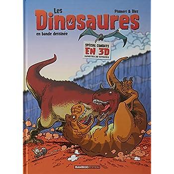 Les Dinosaures en BD - 3D Nouvelle édition