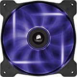 Corsair SP140 LED Ventilador de PC (140 mm, iluminación LED Viola) Paquete Soltero