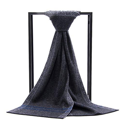 National du vent en automne et en hiver les foulards haut de gamme/Longs et épais de laine chaude écharpe smart casual A