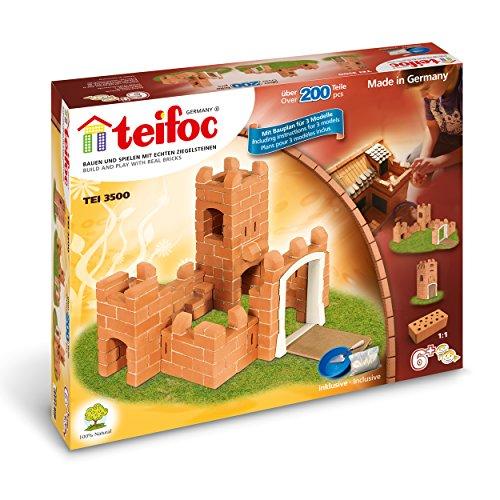 Teifoc Steinbaukästen - TEI 3500 - Burg