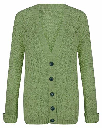Sugerdiva - Robe - Pull - Femme B.green