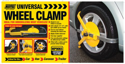 Maypole MP9065 Universal Wheel Clamp