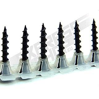Gurtschrauben Magazinschrauben 3,9 x 35 mm Grobgewinde für Bosch Makita Hitachi usw. - PROFIQUALITÄT FÜR TROCKENBAUER
