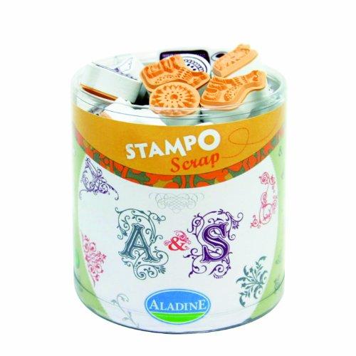 aladine-03712-tampons-a-imprimer-stampo-scrap-arabesque
