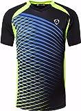 Jeansian Herren Sportswear Quick Dry Short Sleeve T-Shirt LSL230