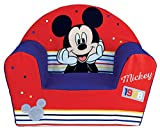 FUN HOUSE 713012 Disney Mickey Fauteuil en Mousse pour Enfant, à partir de 18 Mois