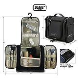 Neceser-para-colgar-Viaje-Bolsa-Aseo-Tocador-Botellas-de-viaje-Organizador-Accesorios-de-Bao-y-de-Cosmticos-kit-de-Afeitado-Kit-de-Afeitado-y-lquidos-Aprobadas-para-Seguridad-de-Aeropuerto