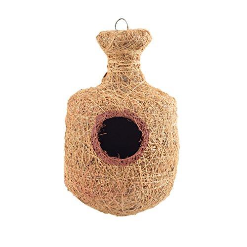 Bristo Coco Fiber Bird Nest (Pot Design) - Bird Shelter for Sparrows,...