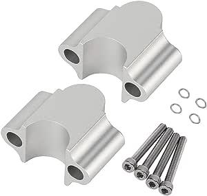 Motorrad Lenker Riser Universal Aluminiumlegierung Lenker Riser 7 8 22mm Motorrad Lenker Riser Clamp Galvanisieren Auto