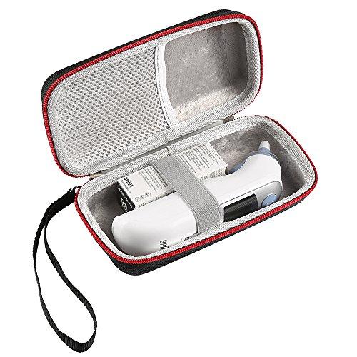 LuckyNV Thermometer-Gehäuse, tragbare Schutzhülle für Braun Thermoscan 7 IRT6520 Thermometer Griff Tasche