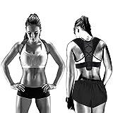 Geradehalter zur Haltungskorrektur für Männer und Frauen/ Therapie für haltungsbedingte Nacken Rücken und Schulterschmerzen/ Verbessert die Atmung Verhindert Rundrücken Atmungsaktiv Bequemes (L) (L)