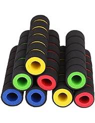 oxita (TM) 4pcs Esponja de Espuma Antideslizante para Bicicleta Manillar Mano Grip Set para motocicletas Bicicletas de coches eléctricos 4colores para elegir, amarillo