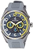 Spinnaker Reef Men's Quartz Watch with Grey Dial Chronograph Display on Grey Silicon Band SP-5022-08