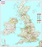 Great Britain and Ireland - Michelin Encapsulated Wall Map (Michelin Encapsulated Wall Maps)