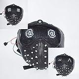 DMAR Watchdogs 2 Masques Lumineux (Expression Variable), Demi-Masque pour Visage avec...
