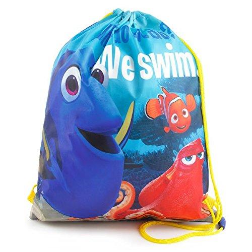 Disney Pixar Finding Dory Drawstring Gym Bag, Multi